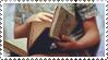 Readingstamp by yesterdays-childd