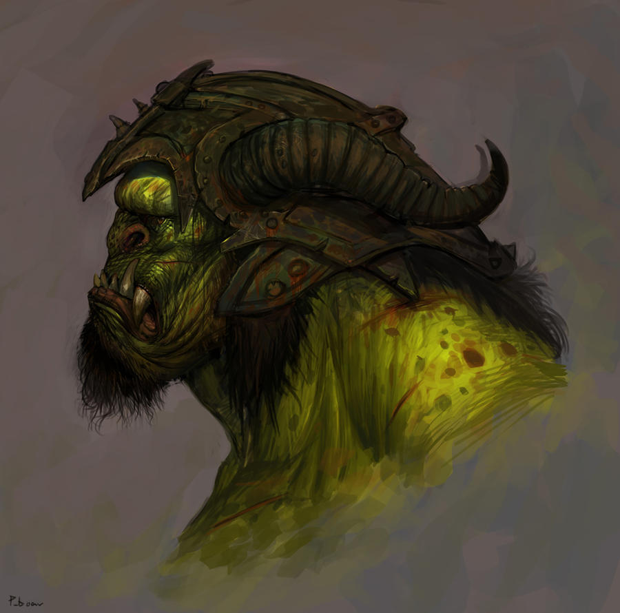 Orc 2 by SaeedRamez