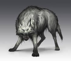 Wolf by SaeedRamez