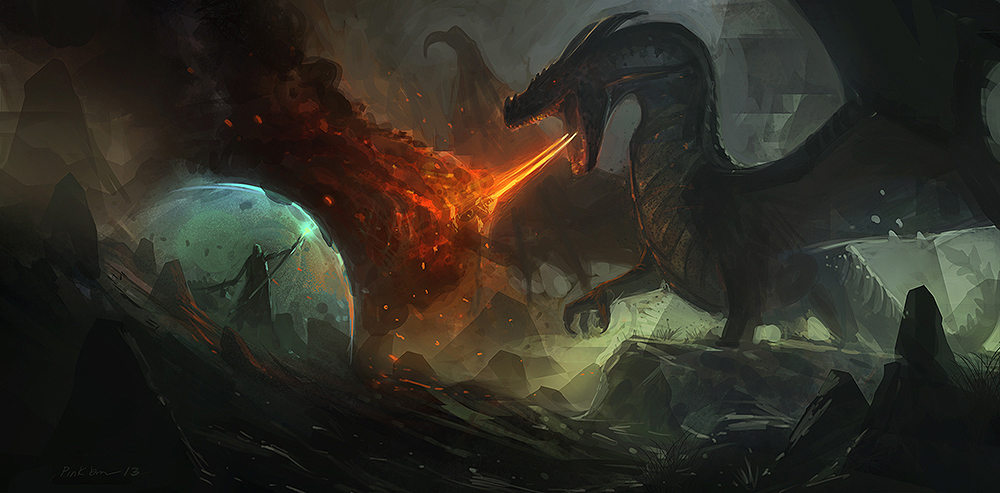 Dragon by SaeedRamez