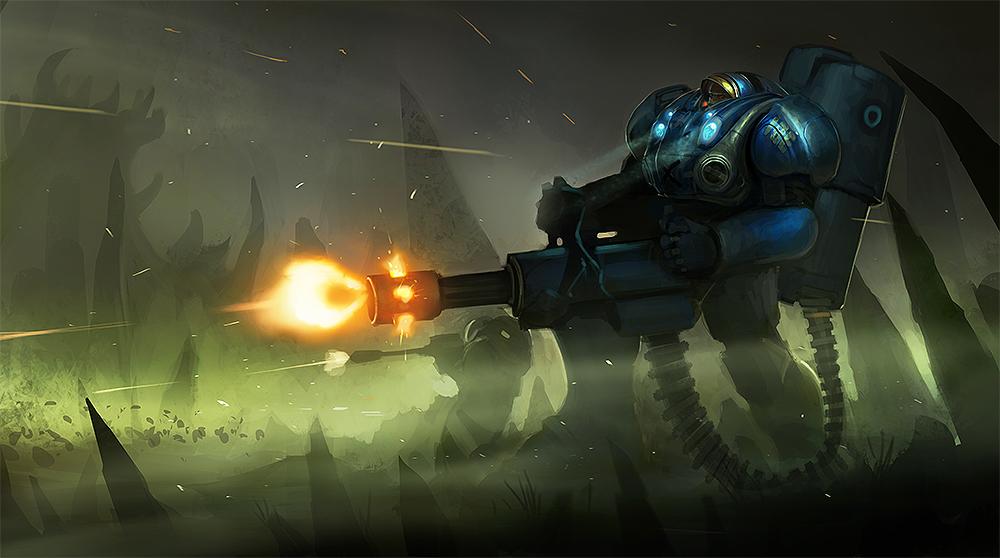 Starcraft II (fanart) by SaeedRamez