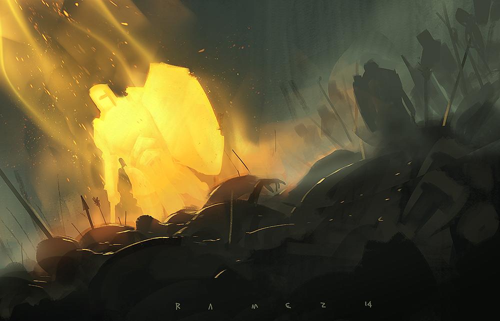 Holy crusader by SaeedRamez