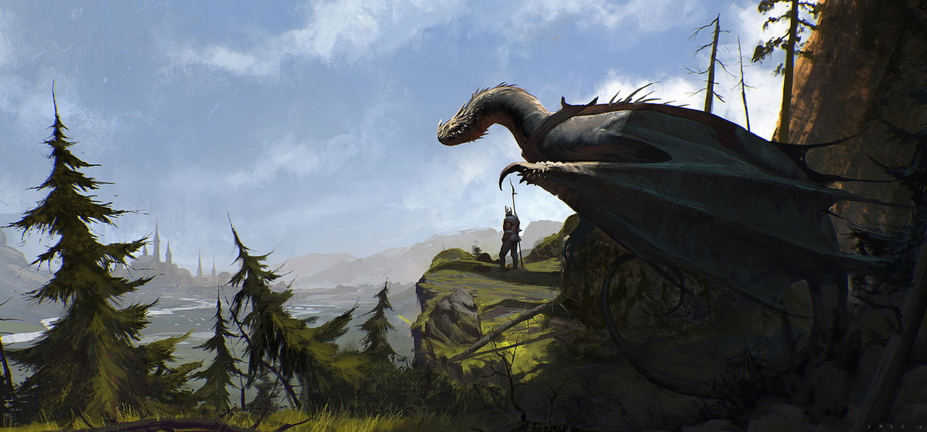Dragon Rider By SaeedRamez On DeviantArt