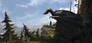 Dragon Rider by SaeedRamez