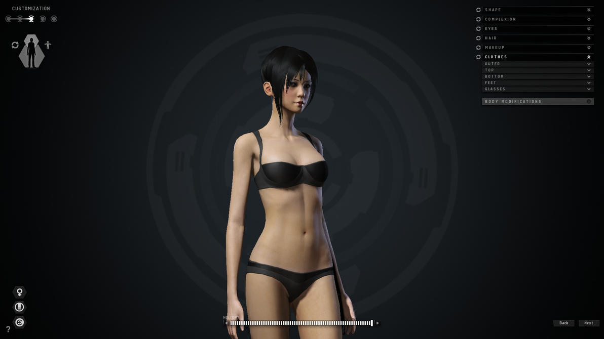 Eve Online Amazing Character Creator By Techstepman On