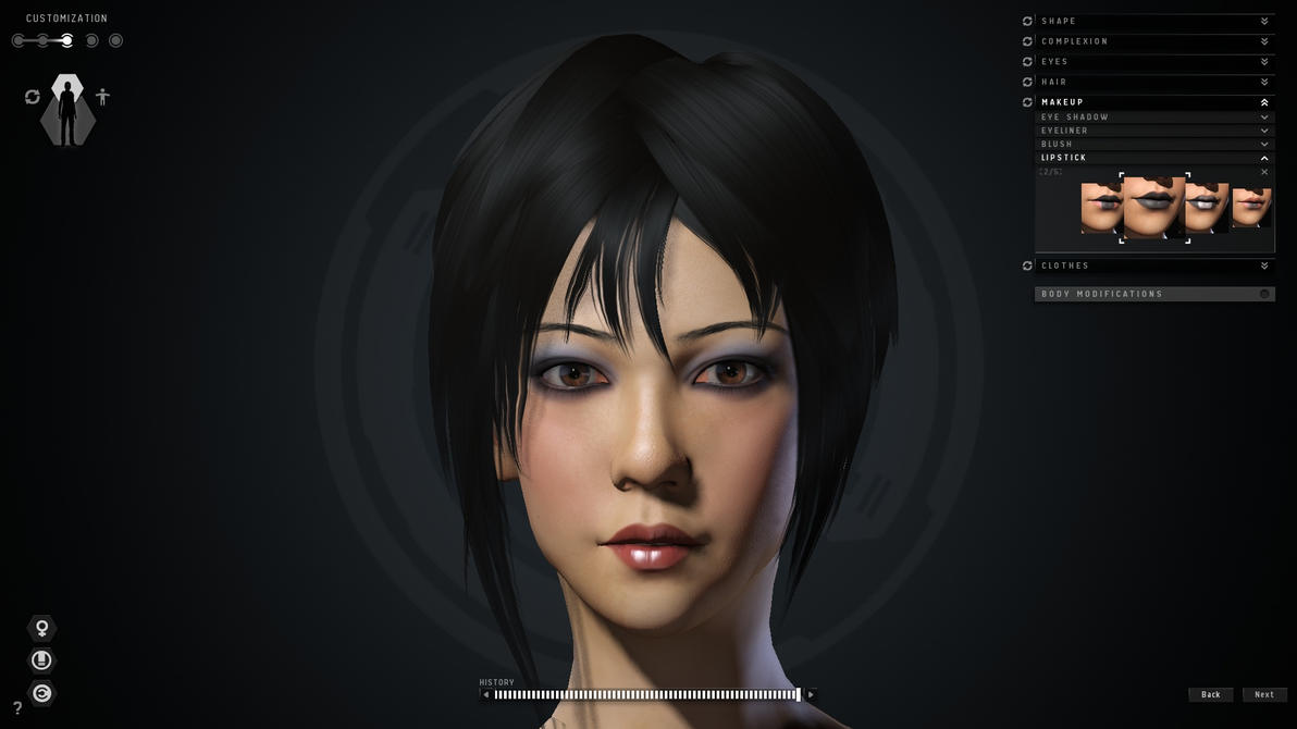 Eve online character creator 2 by techstepman on deviantart 3d builder online