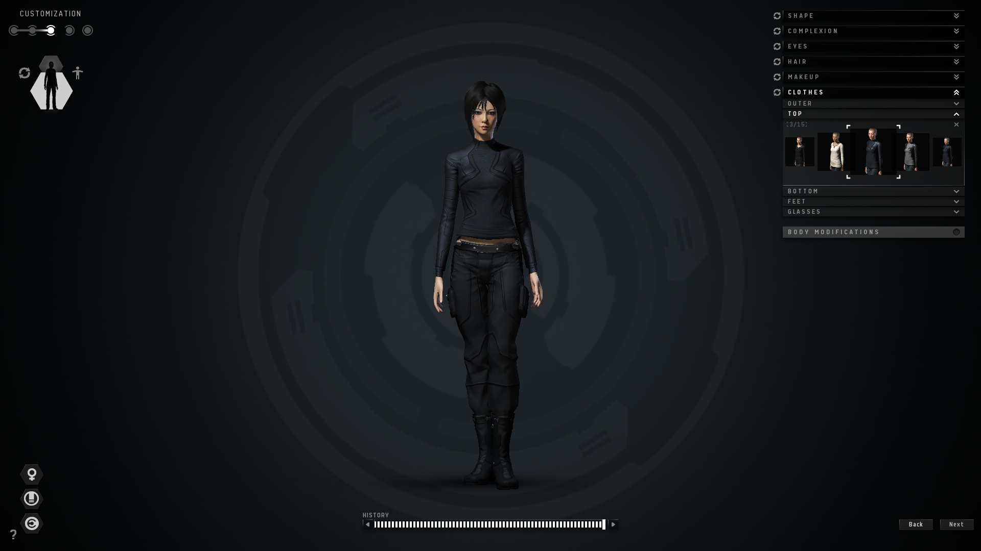 Eve Online Character Creator 3 By Techstepman On Deviantart