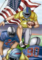 American football by AceKomiks