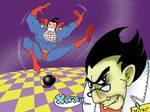 Superhero  and Supervillain