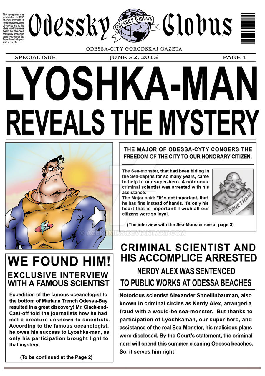 Lyoshka-man and Dark Lagoon12 by AceKomiks