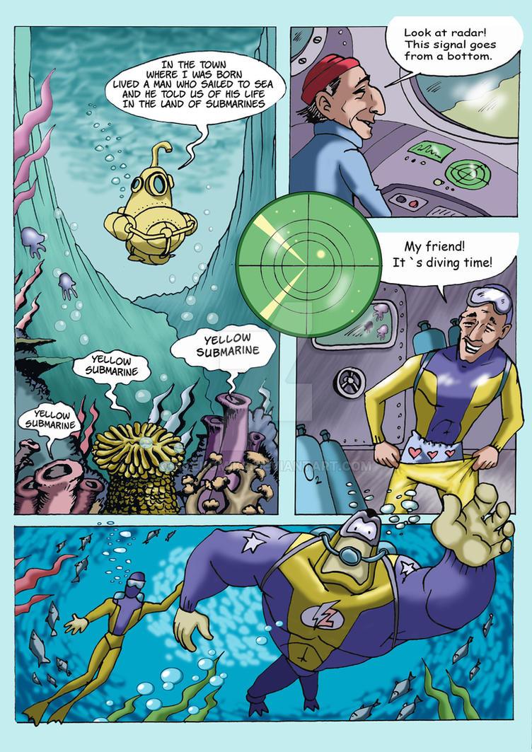 Lyoshka-man and Dark Lagoon7 by AceKomiks