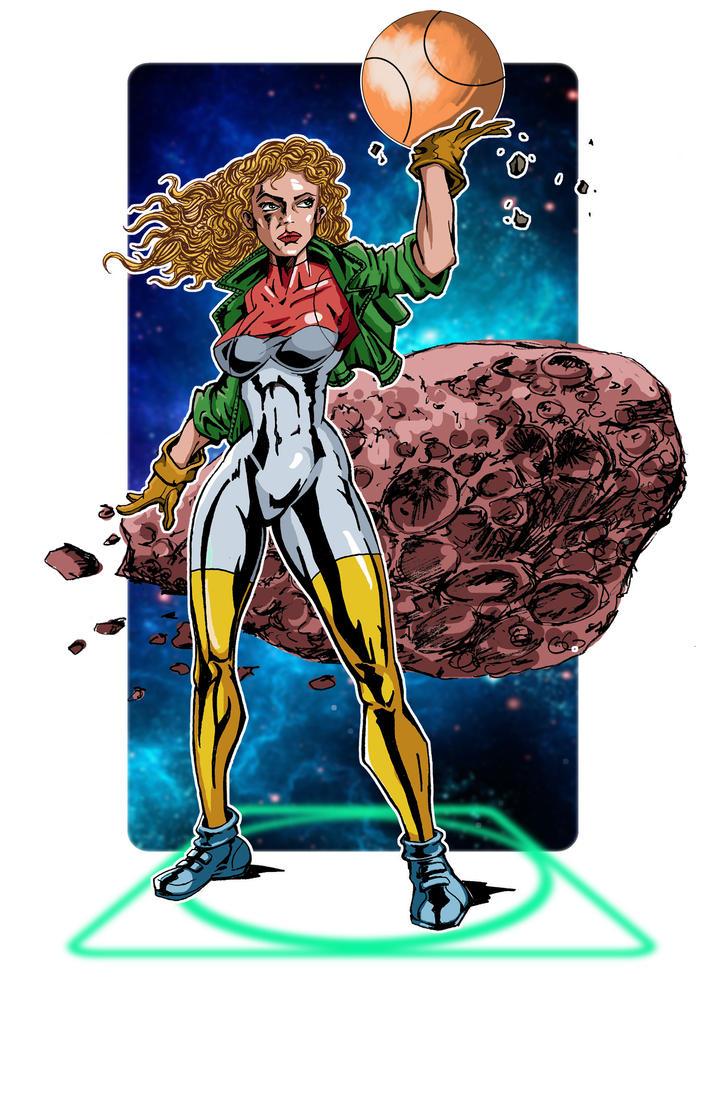 Superheroine by AceKomiks