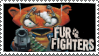 Fur fighters stamp by X--O