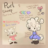 Purl ref by X--O