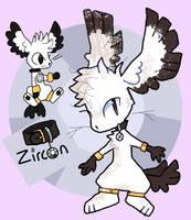 Zircon Ref 2016 by X--O