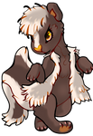 Skunk chibi by X--O
