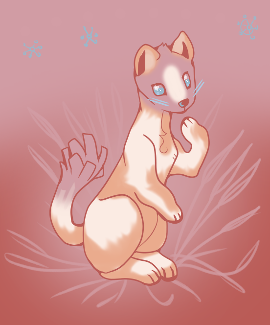 Malting stoat by X--O