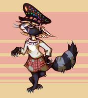 It's a raccoon by X--O
