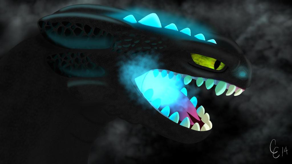 Night Fury by Stitch-Ohana on DeviantArt