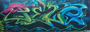 Peso graffiti by P-E-S-O