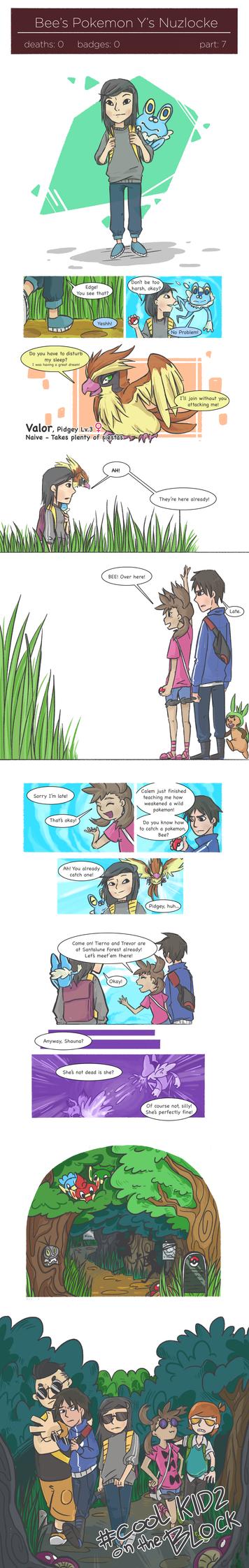 Y's Nuzlocke pg.7 - Adventure Begins by lopatoi