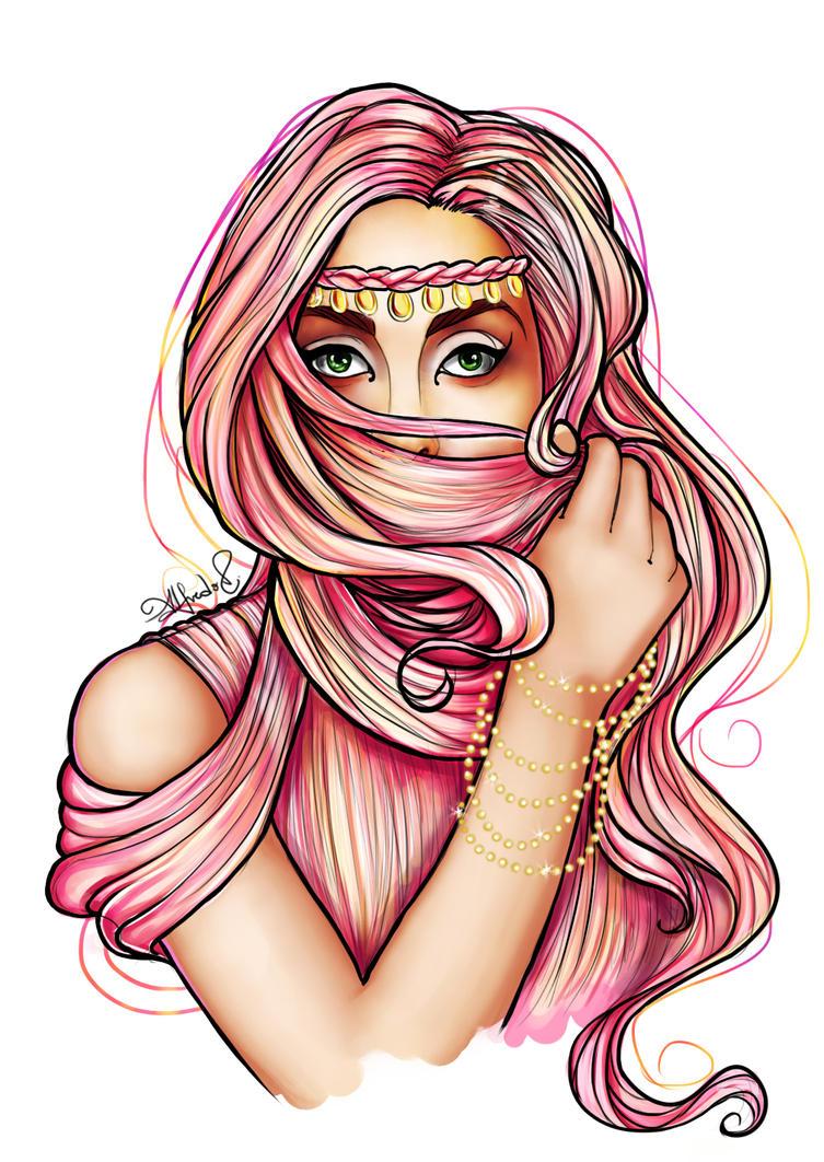Hair Burqa by AlfredoV90