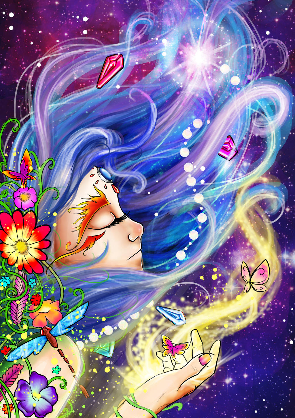 lucy in the sky with diamonds by alfredov90 on deviantart