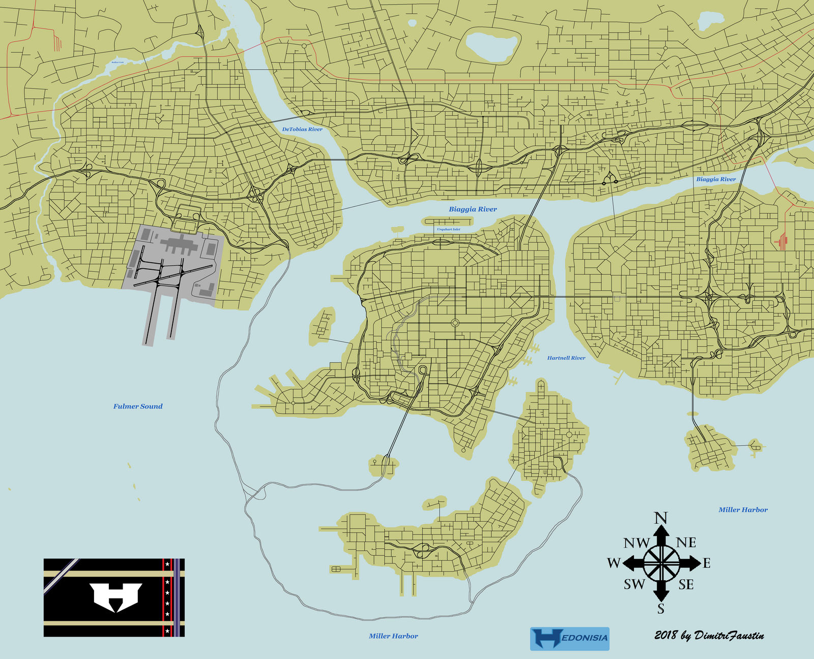 Hedonisia Usa The Full Complete Map By Dimitrifaustin On Deviantart