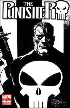 The Punisher Sketch Cover!