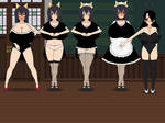 Kisekae: UltraLightningRaichu Pregnant Maid