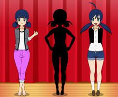 Kisekae: Marinette/Ladybug/Anime by misorass