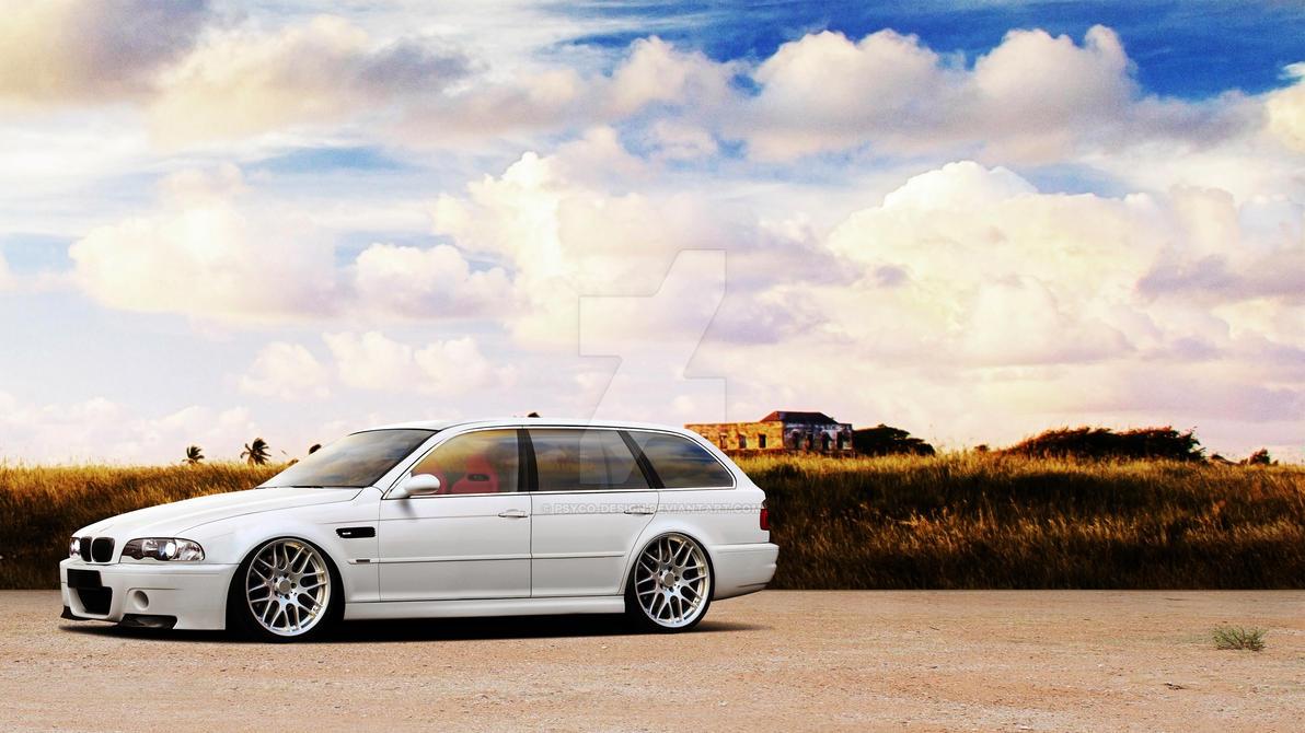 Bmw M3 E46 Touring By Psyco Design On Deviantart