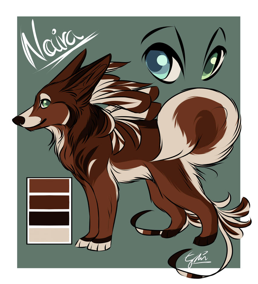 Palette Adoptable: Naira by Espherio