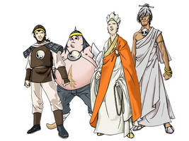 Journey To The West's Gang