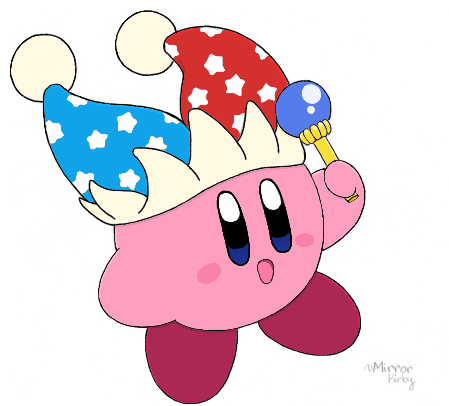Mirror Kirby - colored by water-kirby on DeviantArt