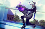 Darkflame Shyvana League of Legends Cosplay