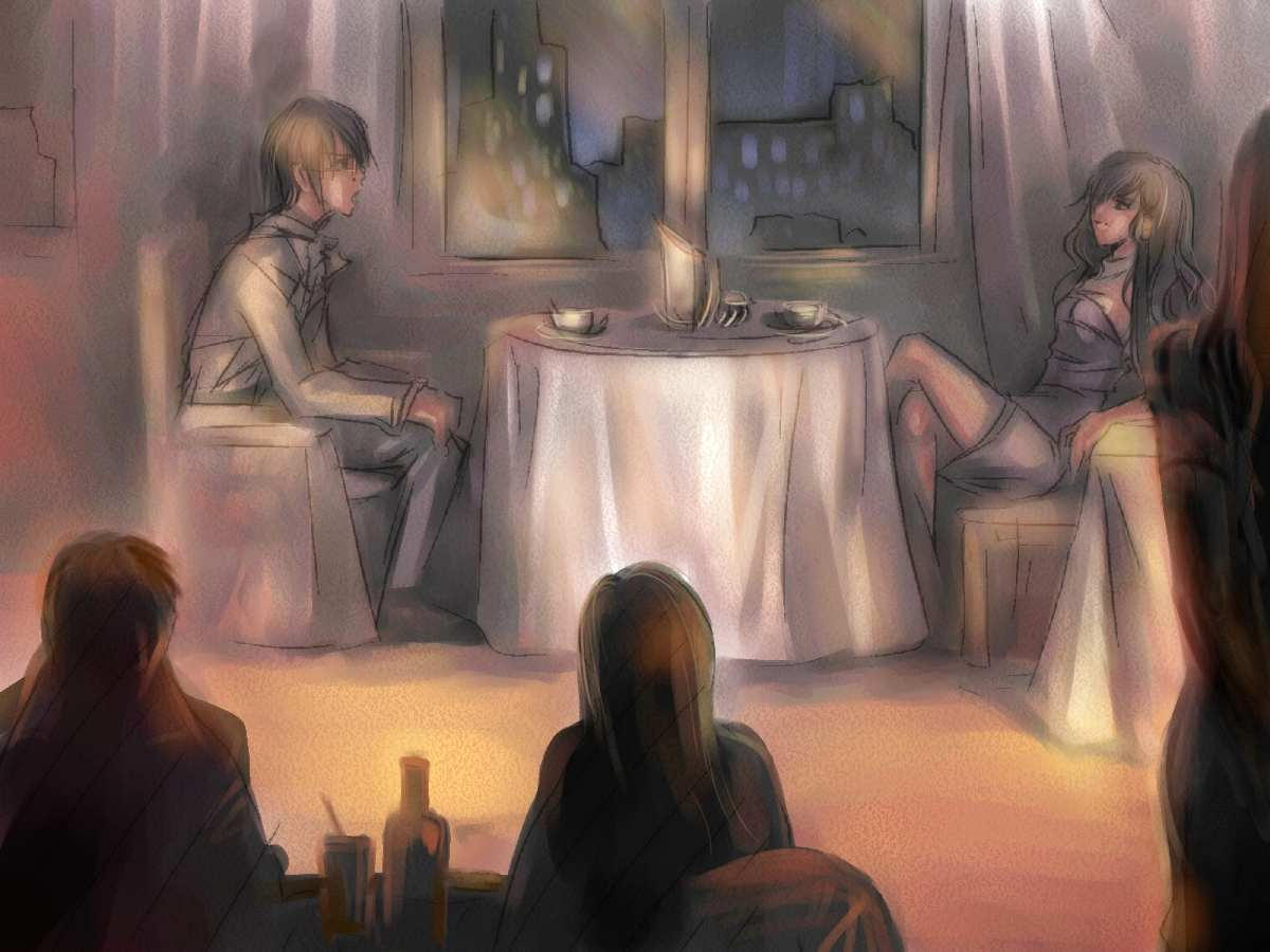 cafe by egosun