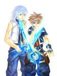 KH2_Riku and Sora