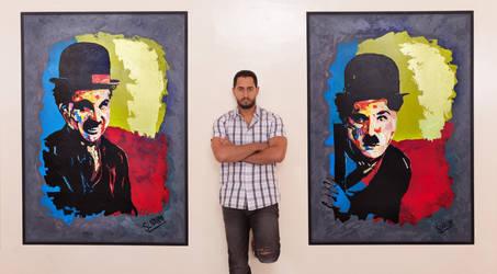 Artiste Salah Eddine Laouina-maroc