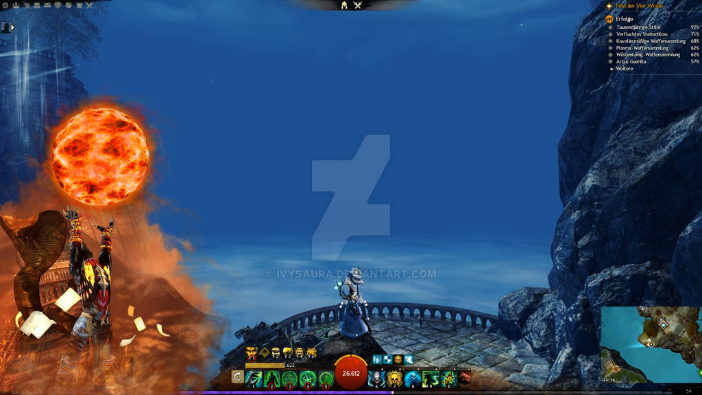 Guild Wars 2 Overlay | Chat Cover Guardian by Ivysaura on DeviantArt