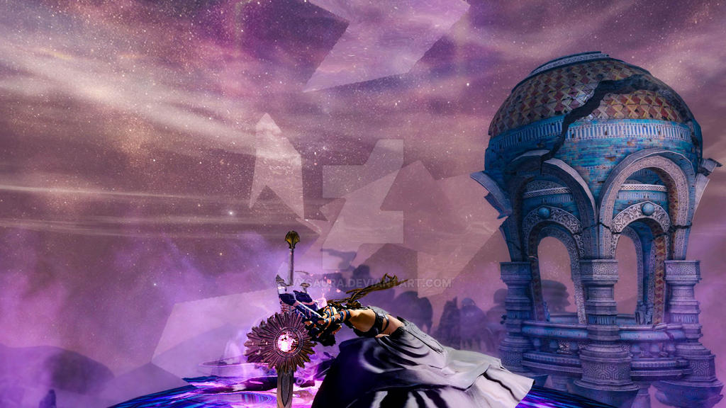 Guild Wars 2 Screenshot | Human Mesmer by Ivysaura