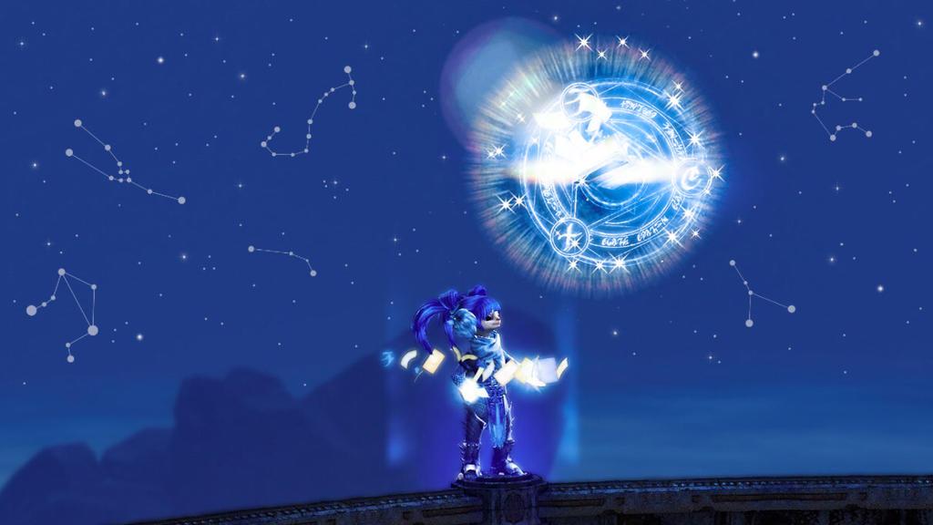 Guild Wars 2 Screenshot   Looking at the stars by Ivysaura