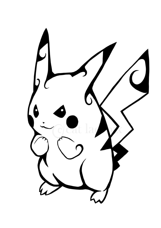 Pikachu Tattoo By CatLaCroix On DeviantArt