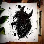 Raven Inktober 2021