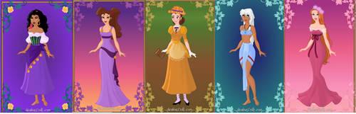 Disney Non Princesses by dcfan0590