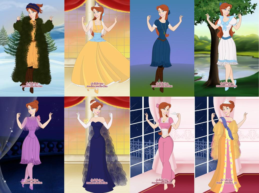 Anastasia's Wardrobe by dcfan0590