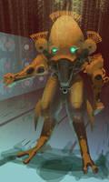 robot by magicbrushlv
