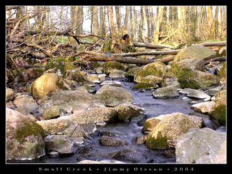 Small Creek by J-i-m-p-a