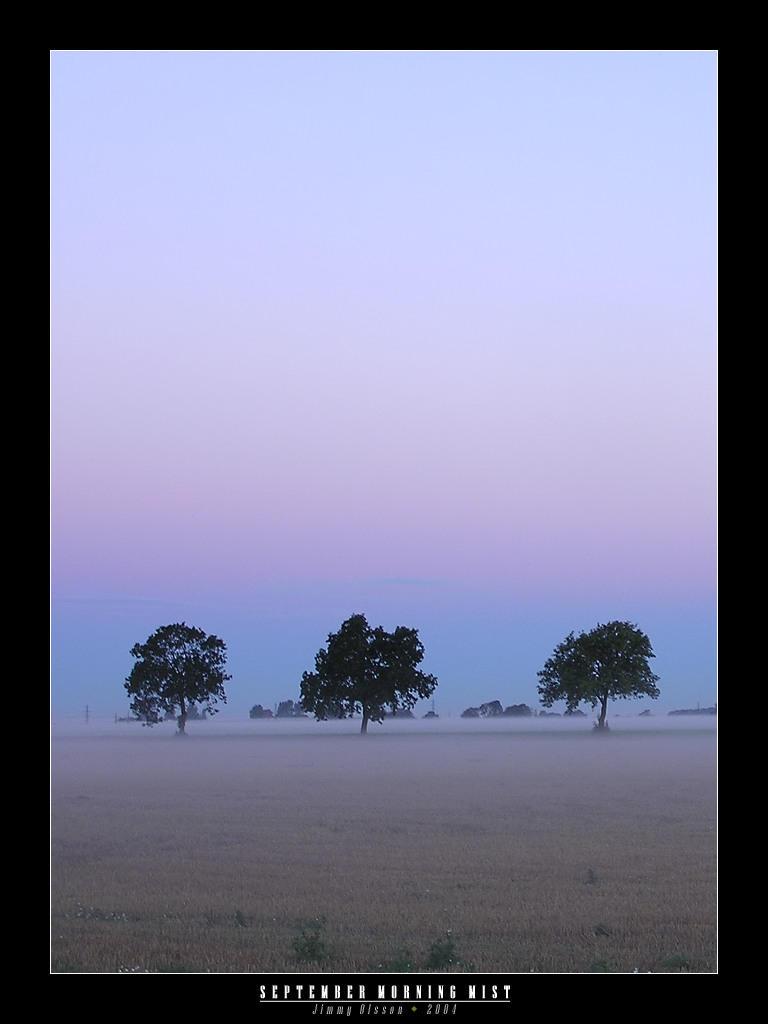 September Morning Mist by J-i-m-p-a