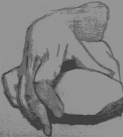Figure Drawing: Hand by LexusX